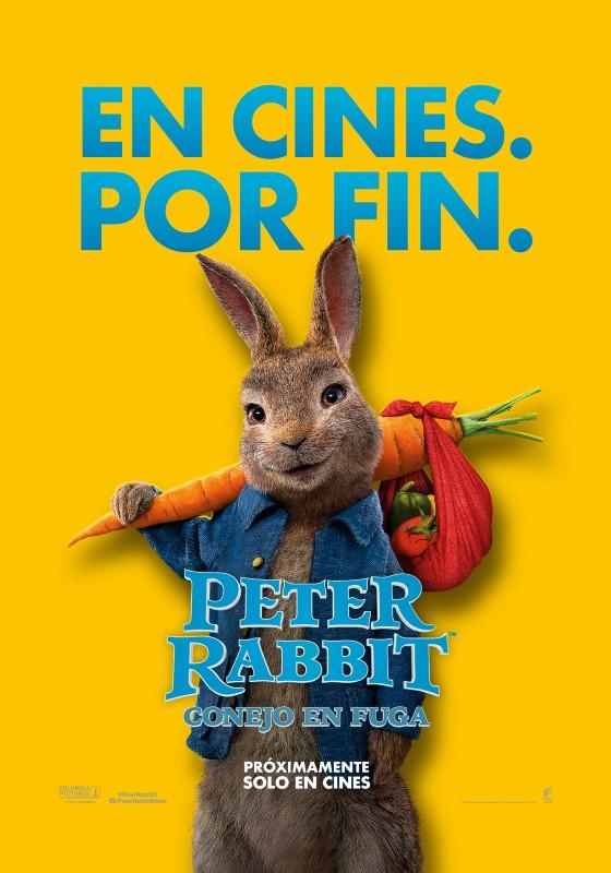 Peter Rabbit, conejo en fuga