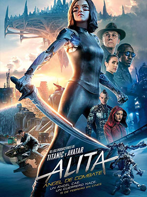 Poster de: ALITA LA ULTIMA GUERRERA