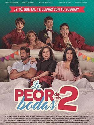 Poster de:2 LA PEOR DE MIS BODAS 2