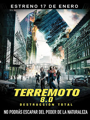 Poster de:2 TERREMOTO 8.0