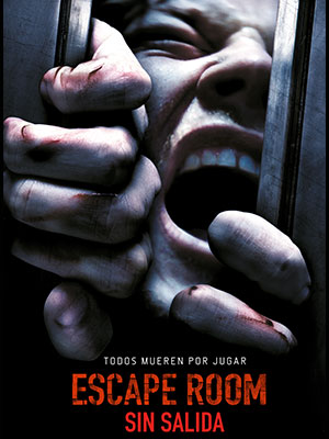 Poster de:1 ESCAPE ROOM SIN SALIDA