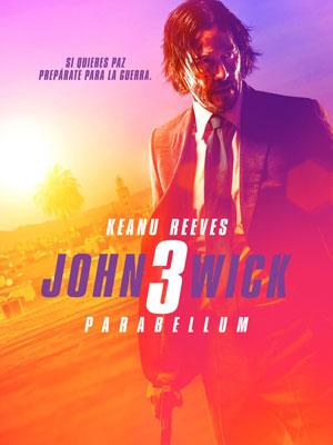 Poster de:1 JOHN WICK 3 PARABELLUM