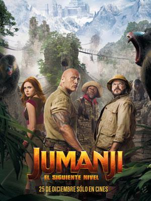 Poster de:1 JUMANJI 2 EL SIGUIENTE NIVEL